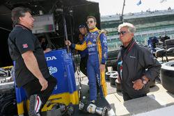 Michael Andretti, Marco Andretti, Mario Andretti