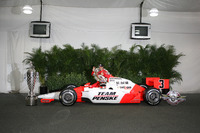 IndyCar Photos - Race winner Helio Castroneves