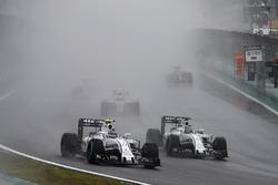Valtteri Bottas, Williams FW38, Felipe Massa, Williams FW38