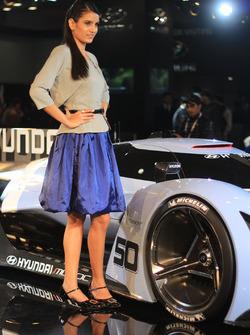 Lovely Hyundai girl