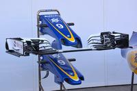 Формула 1 Фото - Детали носового обтекателя Sauber C35