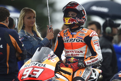 Marc Marquez, Repsol Honda Team with a lovely grid girl