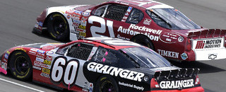 NASCAR XFINITY BUSCH: Jeff Green edges Biffle for Charlotte win