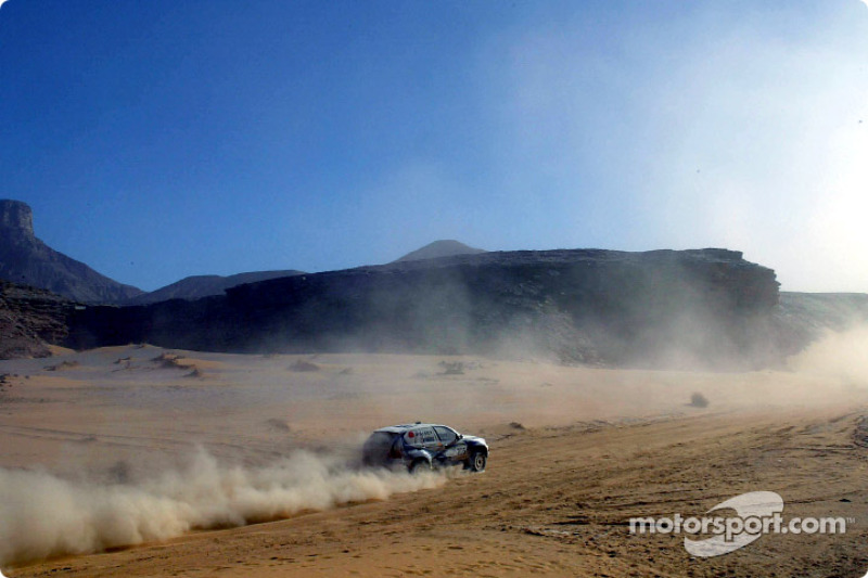 Dakar: BMW stage eight report