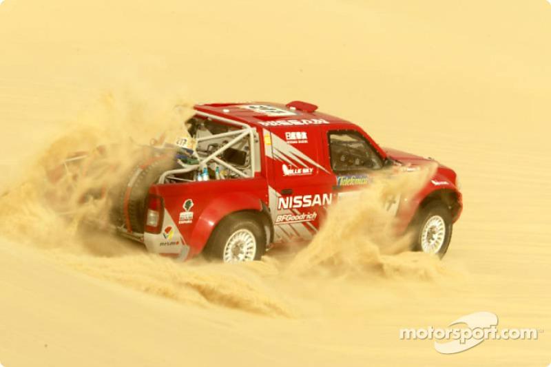 Dakar: Nissan stage 11 report