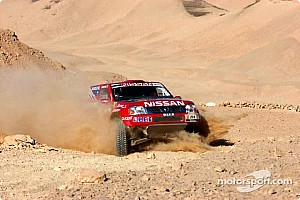 Dakar: Nissan stage 14 report