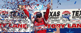 BUSCH: Nemechek wins wild race at Texas