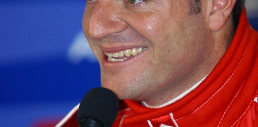 Local hero Barrichello on pole for Brazilian GP