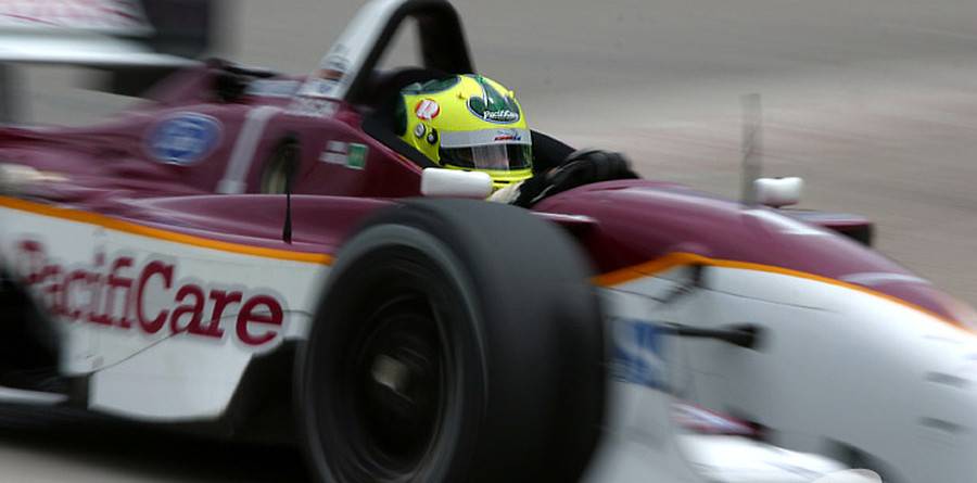 CHAMPCAR/CART: Junqueira finally gets first pole of '03 at Road America
