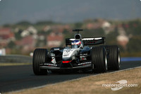 McLaren focus on current car