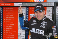 Newman back on the pole at The Rock