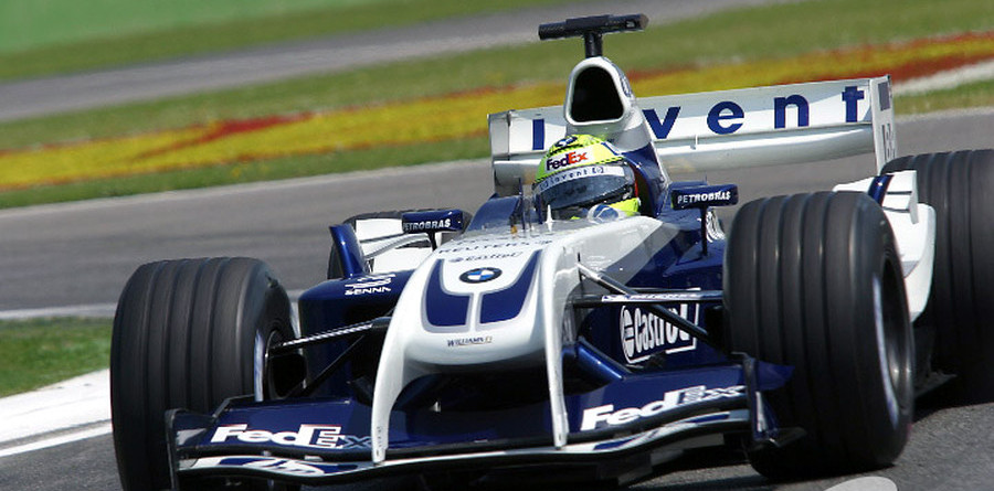 Ralf fastest at wet Silverstone