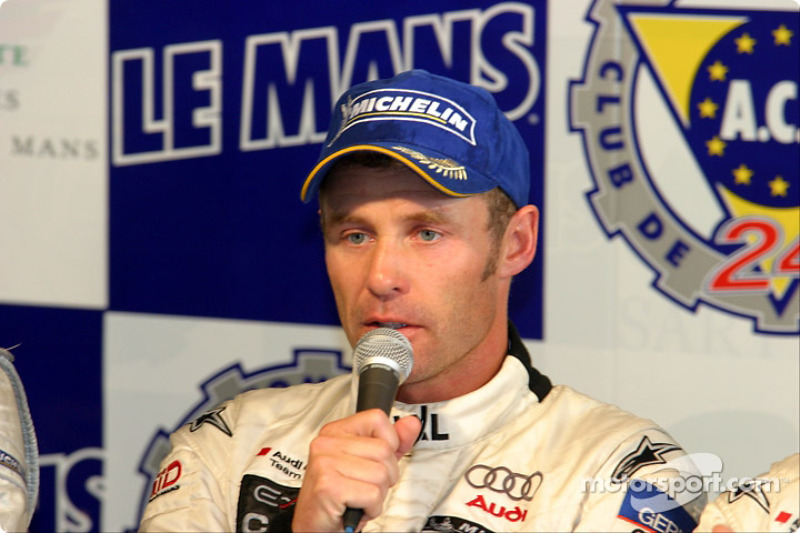 Post-race press conference