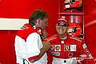 Schumacher carries enthusiasm to Silverstone