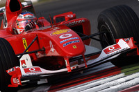Barrichello heads Ferrari victory at Italian GP