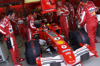 Ferrari drivers expect tough weekend
