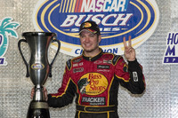 BUSCH: Truex Jr wins back-to-back championship