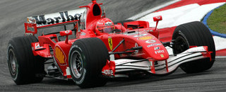 Schumacher leads in Malaysian GP last practice