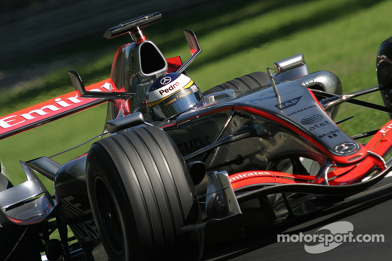 A lap of Monza with de la Rosa