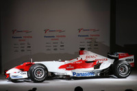 Toyota launches the TF107 in Cologne