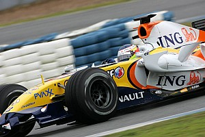 Formula 1 Zonta happy with first test