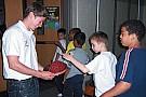 Baas visits elementary school