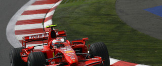Raikkonen leads in Chinese GP first practice