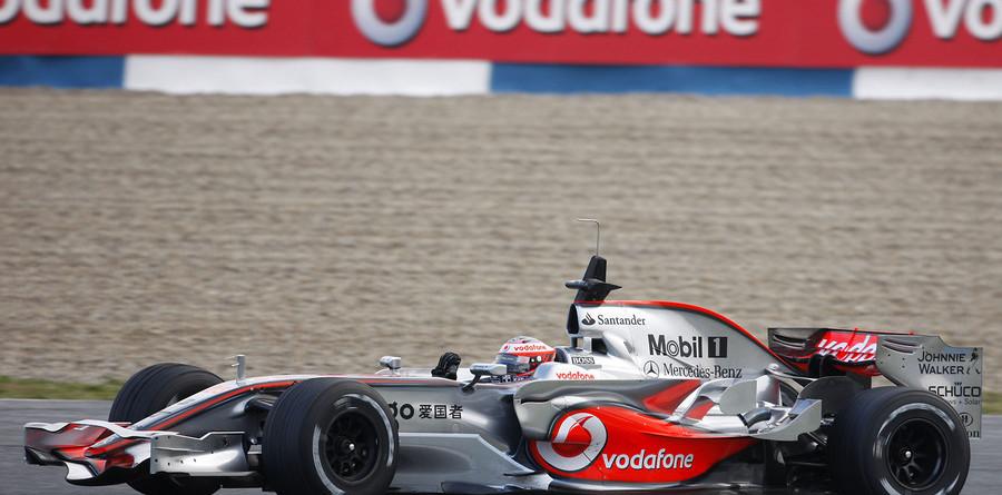 McLaren journey to Jerez to test new car
