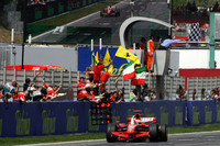 Raikkonen stamps his seal on Spanish GP and season
