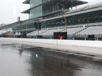 Rains continue to dampen Indy preparations