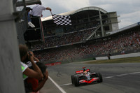Hamilton wins German GP in spite of McLaren tactics