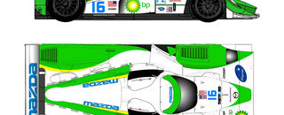 ALMS Dyson joins forces with Mazda for 2009 P2 contest