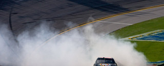 NASCAR Sprint Cup Keselowski wins wild race at Talladega