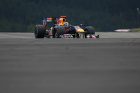 Webber bags his first pole, in Germany