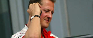 Michael Schumacher's comeback trail begins