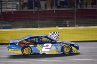 Busch doubles down at Charlotte, wins the 600