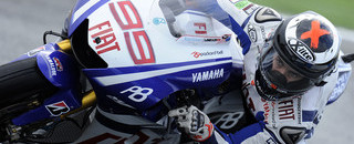 Lorenzo on pole at washed-out Estoril