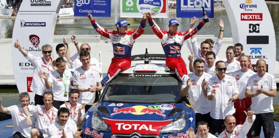 Loeb continues Rally Mexico winning streak