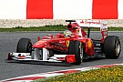 Ferrari Barcelona test report 2011-03-11
