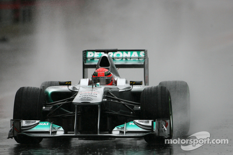 Mercedes Barcelona test report 2011-03-12
