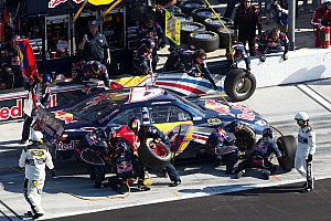 Red Bull Racing team race report