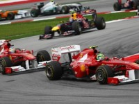Ferrari Race Report