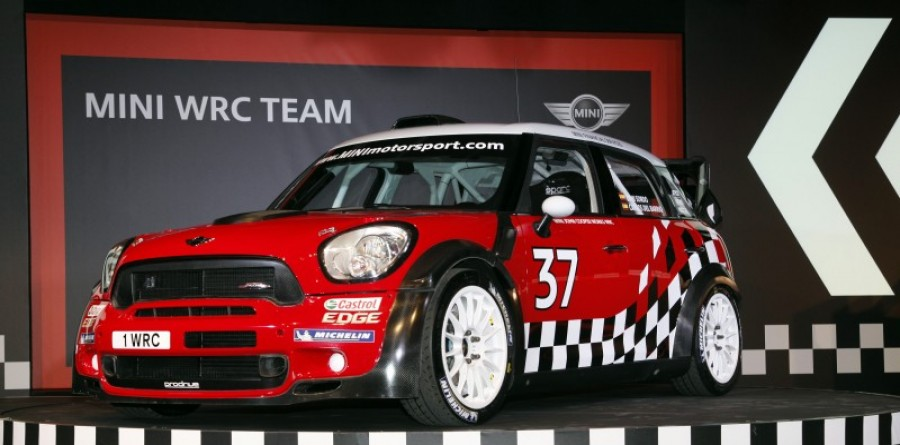 MINI WRC Team is officially launched in Oxford