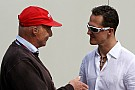 Lauda urges Schumacher to think about retirement