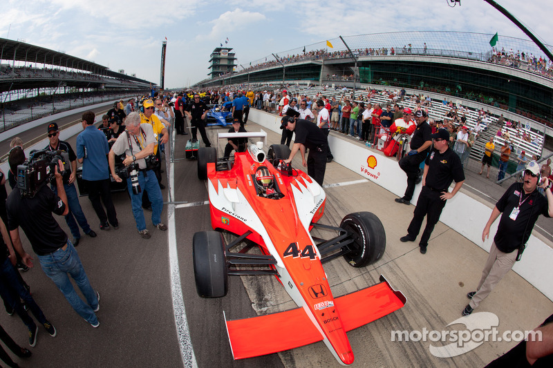Panther Racing Indy 500 Pole Day Report