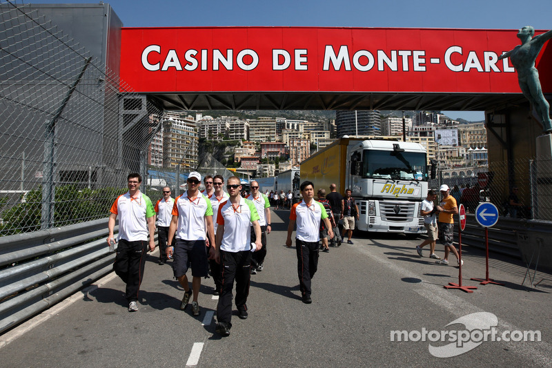 Drivers to keep eye on repaired Monaco surface
