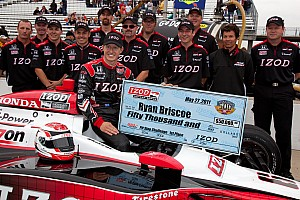 IndyCar Series Indy 500 Carb Day Report