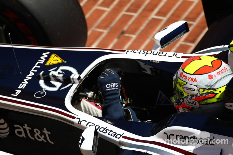 Williams Monaco GP Qualifying Report