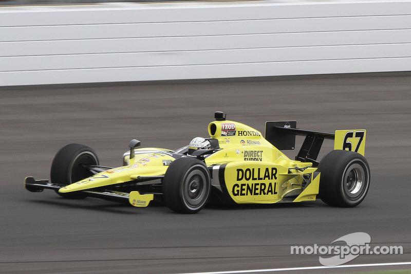 Sarah Fisher Racing Indy 500 Race Report