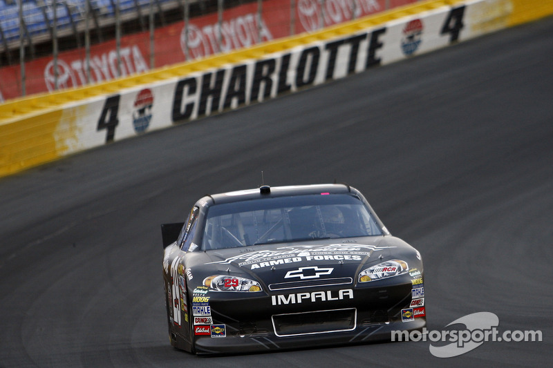 NASCAR Series Charlotte Race Report